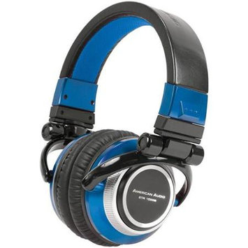 American Audio ETR 1000B DJ Headphones Blue