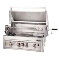 Sunstone 4-Burner Natural Gas Gas Grill with Integrated Smoker Box SUN4BIRNG