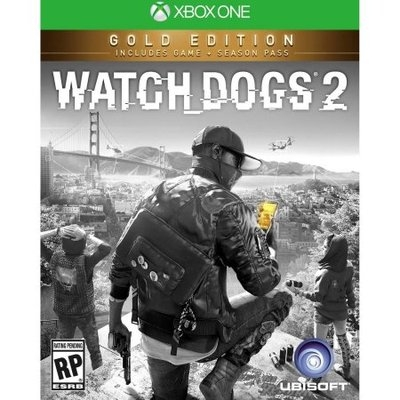 Ubisoft Watch Dogs 2 Gold Edition XBox One [XB1]