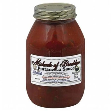 Michaels Of Brooklyn Sauce Putanesca 32 OZ (Pack of 6)
