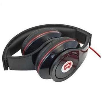 iBoost HP1106BK Stereo Foldable Headphones Rich Sound - Black