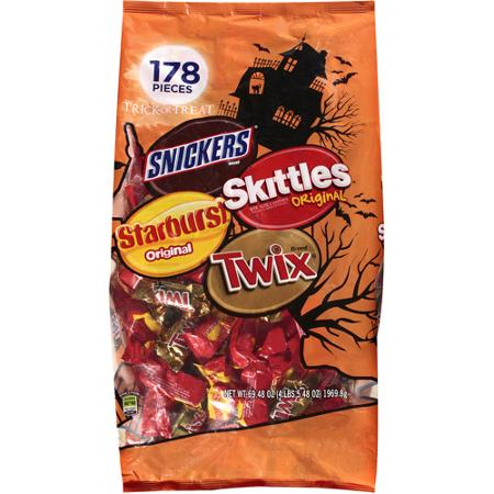 Mars Filled Bar Halloween Mix Variety Bag