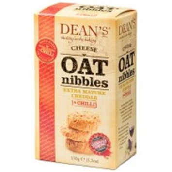 Dean's Deans 5.3 oz. Cheese Oat Nibble Bites With Chilli Case Of 10