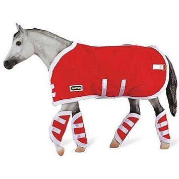 Reeves International Breyer Red Blanket & Shipping Boots