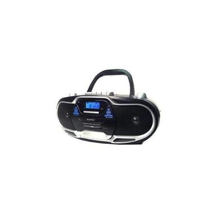 Supersonic SC-744 Portable MP3-CD Cassette Recorder AM/FM Radio