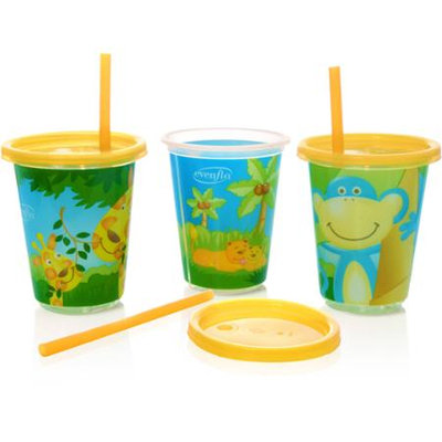 Evenflo ZF Straw Cup (3 Pack)