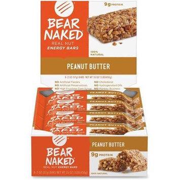 Bear Naked Bear Naked Bar Peanut Butter - 8 - 2 oz Bars