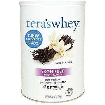 Teras Whey Tera's Whey rBGH Free Whey Protein Bourbon Vanilla 24 oz