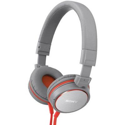Sony MDR-ZX600 On-Ear Studio Headphones - Gray