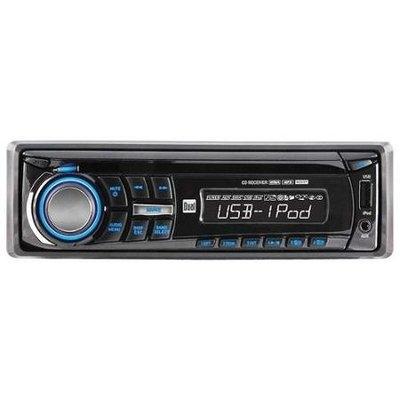 Dual XDMA350 Am/fm/cd-r/rw/mp3/wma Usd Contol For Ipod/phone 3.5mm Swi Ready Remote 2 Pre-amp Out