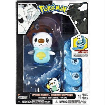 Jakks Pacific Pokemon Black and White Oshawott Attack Figure, Not Mint