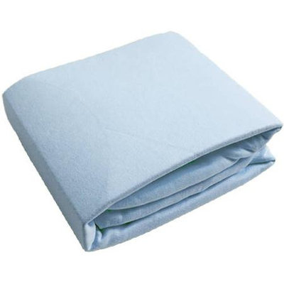 Kushies Fitted Crib Sheet - Blue