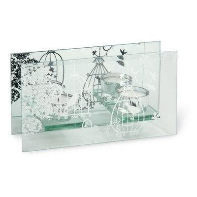 October Hill Birdcage Glass Candelabra