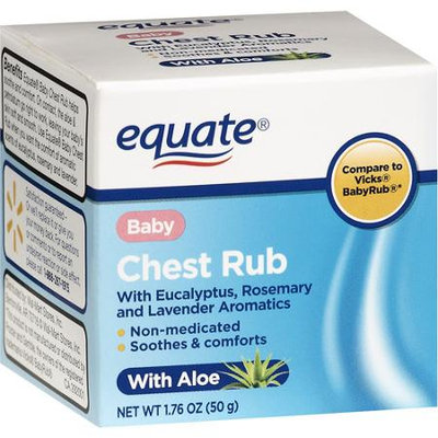 Equate Baby Chest Rub With Aloe, 1.76 oz