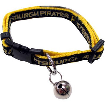 Pets First MLB Pittsburgh Pirates Cat Collar