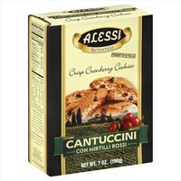 Alessi 7 oz. Cantuccini Crisp Cranberry Cookies Case Of 12