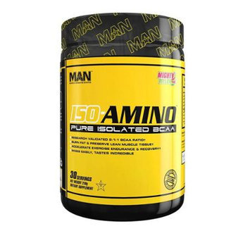 MAN Sports Iso-Amino Energy Powder, Blue Bomb-Sicle