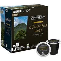 Keurig K-Cup Pod Laughing Man Columbia Huila Dark Roast Coffee - 16-pk.