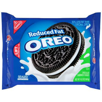 Oreo Reduced Fat Sandwich Cookies