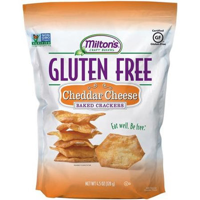 Miltons Milton's Gluten Free Baked Crackers Cheddar Cheese 4.5 oz