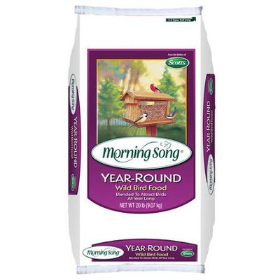 Scotts Company 2022523 Year Round Wild Bird Food 20# Year-Round - Bagged