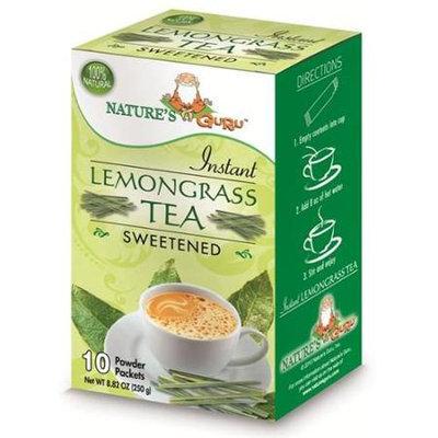 Nature's Guru Natures Guru Lemongrass Chai Sweetened Drink Mix - Pack Of 8