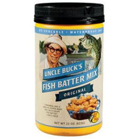 Uncle Buck's Uncle Bucks 39577 Fish Batter Mix - Original - 22 oz.