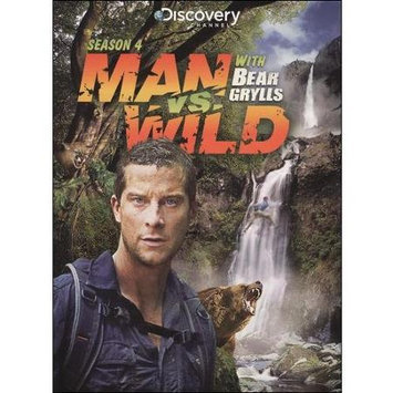 Gaiam International Gaiam Americas Man Vs Wild-season 4 [dvd/3 Disc/13 Episodes]