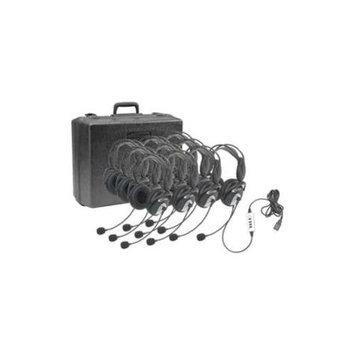 Califone 10Pk 4100-10 Headset USB 2.0 W/ Padeed Case Via Ergoguys