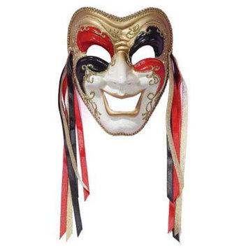 Forum Novelties Inc Forum Novelties 65621F Tri Color Comedy Mask