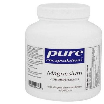 Pure Encapsulations - Magnesium citrate/malate - 180 Capsules