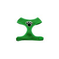 Mirage Pet Products 73-33 LGGR Black Paws Chipper Emerald Harness Large
