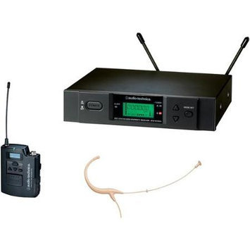 Audio-Technica 2000 Series Wireless Headworn Microphone System / D Band Black D-Band