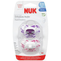 NUK Trendline Camouflage Size 1 Silicone Orthodontic Pacifiers (Pack of 2)