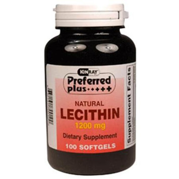 Preferred Plus Natural Lecithin 1200 Mg Dietary Supplement Softgels - 100 Softgels