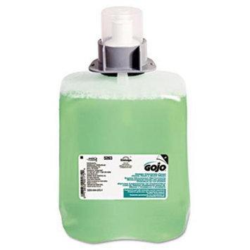 GOJO Green Certified Foam Hair & Body Wash Cucumber Melon 2000mL Refill 2/Carton (GOJO GOJ 5263-02)