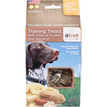 Elive. 034257 Training Dog Treats - Peanut-Banana 8 Oz.