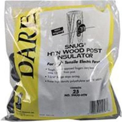 Dare Prod. 25Pc Wd Post Insulator SNUG HTN by Dare