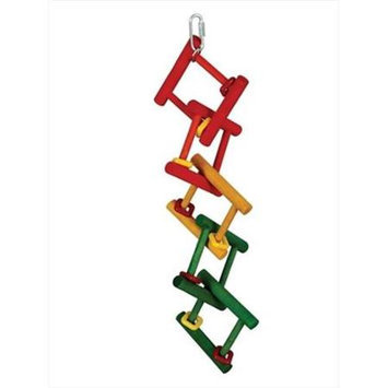 Caitec Corporation Caitec Bird Toy Broken Ladder 5in x 15in