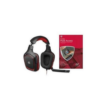Logitech G230 PC Gaming Headset with McAfee AV