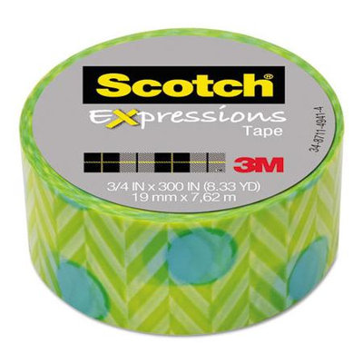 Scotch Expressions Magic Tape, 3/4