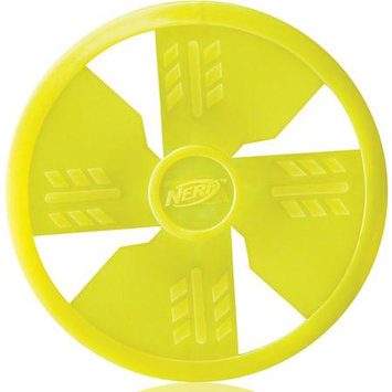 Little Gifts, Inc. Nerf Dog TPR Flying Disc Dog Toy Green