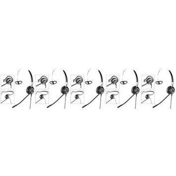 Jabra BIZ 2400 3in1 NC (5-Pack) Noise Canceling Headset 3-in-1 Wearing Styles