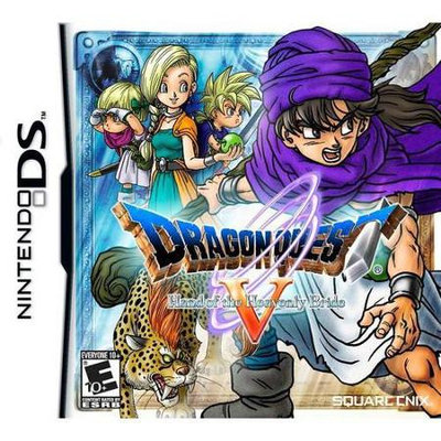 Square Enix Llc Dragon Quest V: Hand of the Heavenly Bride Nintendo DS Game SQUARE ENIX