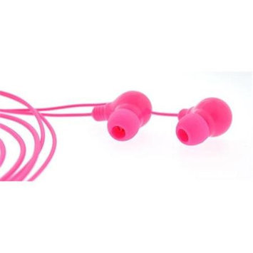 4id PWR-BudzP PowerBudz - Light up Headphones Pink