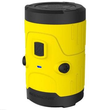 Scosche boomBOTTLE H2O Rugged Waterproof Bluetooth Wireless Speaker (Yellow)
