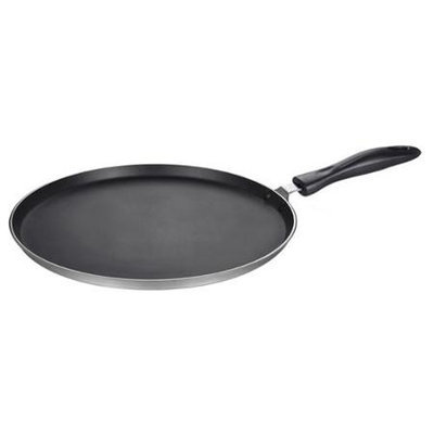 Brentwood Black 11.5-inch Round Aluminum Griddle