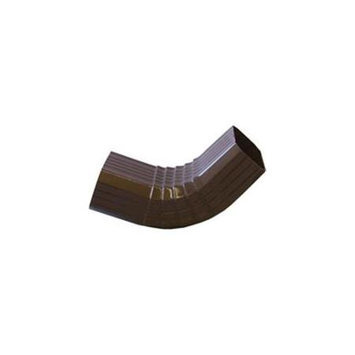 Genova Products 2439776 Elbow Gutter Style A - Brown