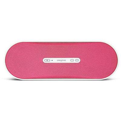 Creative Labs D100 Portable Bluetooth Wireless Speaker - Pink