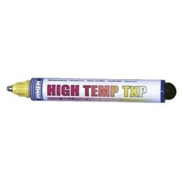 Dykem High Temp TXP Markers - texpen hi temp medium point yellow